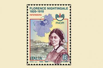 Emissione francobollo dedicato alla professione infermieristica e a Florence Nightingale